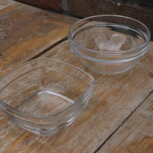 schaaltje van glas